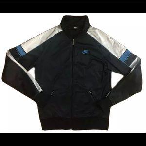 Nike Vintage Blue Tag Track Jacket USA Made Large